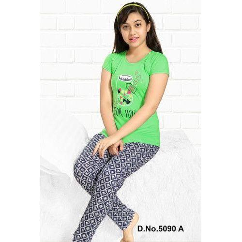 e9f13f024bb Hosiery Cotton Girls Night Suit