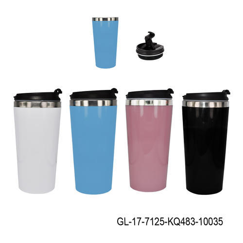 Stainless Steel Insulated Travel Mug With Sipper Lid Gl 17 For