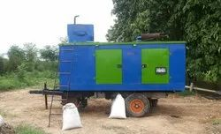 ESB-R50 - 50KW Standalone Biomass Gasifier With Canopy