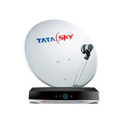 Tata Sky Dish Antenna And Set Up Box