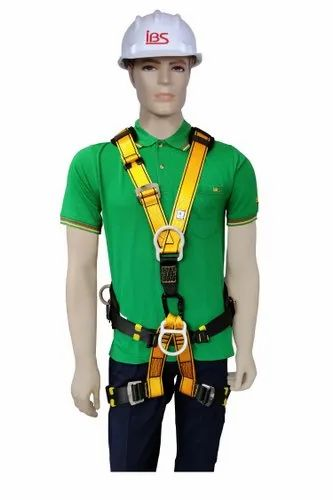Yellow And Black Polyester Multipurpose Harness Belt, For Fall Protection, Size: L & Xxl