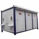 Modular Container Toilet