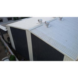 Aluminum Car Parking Shed