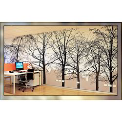 Office Printed Wallpaper