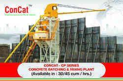 Pan Type Concrete Batching Plant CP-30