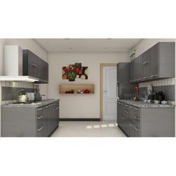 Modern Acrylic Modular Kitchens