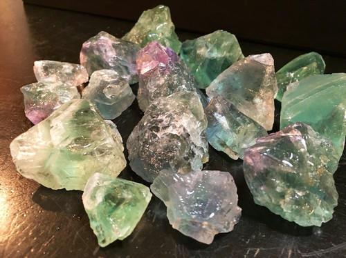 Raw Rainbow Fluorite फ्लोराइट पत्थर Shiv Gems Jaipur