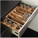 Modular Kitchen Wood Basket
