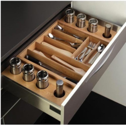 Modular Kitchen Wood Basket