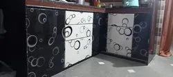 Solid Pvc Modular Kitchen