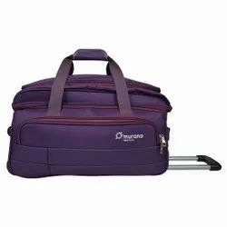 Murano Polyester 22 inches Purple Travel Duffel (9070003_X)