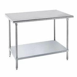 Stainless Steel Single Shelf Work Table