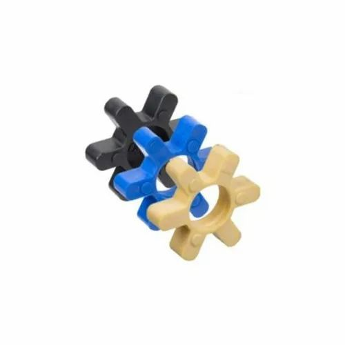 Color Coated Rubber Spider Coupling