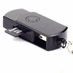 Black Day Safety Net USB Disk Hidden Video Recorder Camera for Security