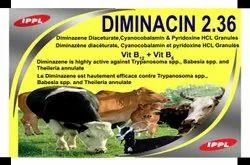 Diminazene Diaceturate,Cyanocobalamin & Pyridoxine HCL Granules