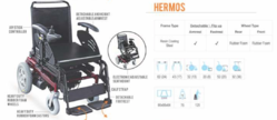 Hermos Power Wheel Chair