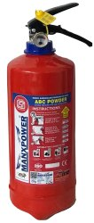 Map 50 ABC Type Fire Extinguisher 2 Kg