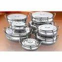 Designer Oval Belly Serving Dishes Set
