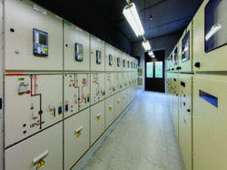 Single Phase Electric Control Panel, for PLC Automation