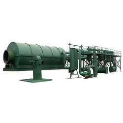 Waste Tyre Recycling Pyrolysis Plant Machinery