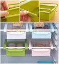 Fridge Space Saver Organizer Slide Storage Rack Shelf Drawer Set of Four