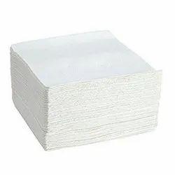 White Double Ply Paper Napkin, Size: 30 X 30 Cm, 17 Gsm