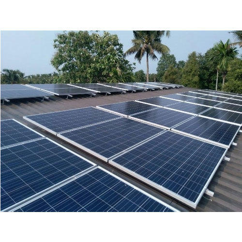 10kw Solar Power Plant At Rs 60000 Kilowatt Solar Power Systems Id 15205416748