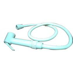 RDE White Plastic Health Faucet for Bathroom Fitting, Dimensions: 17 x 15 x 6 Cm