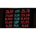 Currency LED Display