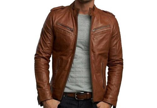 men pure leather jacket at rs 2800 piece men leather jackets id
