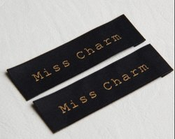 High Quality Woven Label