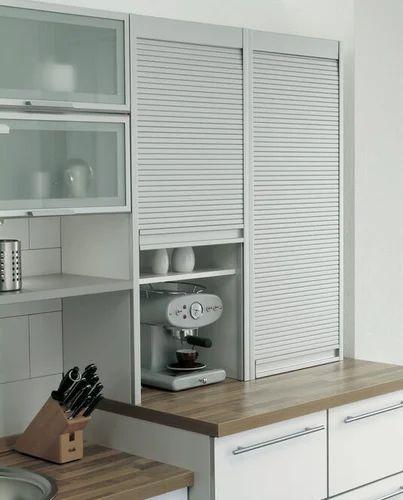 Glass Full Height Kitchen Roller Shutter Dimension Size