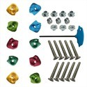 X Small Climbing Holds, Bolt, T-Nuts, LN Key