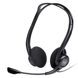 Wired Black Logitech H370 Headset, Weight: 300 Grms