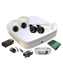 CP Plus DVR,Camera,HDD, Cable, BNC,DC, Mouse,Adapter Surveillance Kit