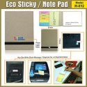Eco Sticky/Note Pad Model H-812