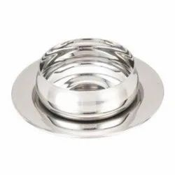 Stainless Steel Round S.S. Belly Soup Bowl with Under Liner, Packaging Type: Box