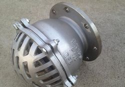 Cast Stainless Steel Foot Valve