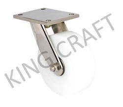 Stainless Steel Plate Type Fabricated Swivel Caster