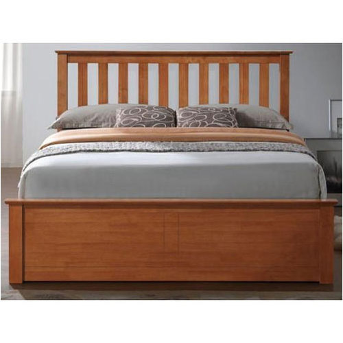 Termite Proof With Box Wooden Double Bed For Home And Hotel Rs 19500 Piece Id 20074842373