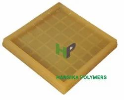 Rubberized PVC 36 Square Tile Moulds, Thickness: 25 / 30 mm