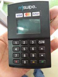 Mswipe Debit Card Swipe Machine