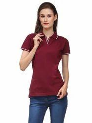 Women Polo Cotton T-Shirt