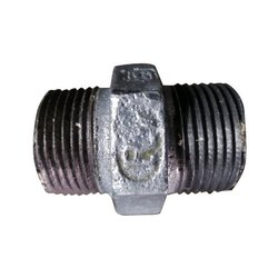 RV GI Hex Nipple, Size: 15mm (1/2 Inch), for Pipe Fitting