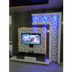 Wooden Free Unit Designer TV Cabinet