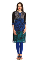 Cottinfab Women's Causal Printed Kurti