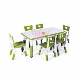 Kindergarten Adjustable Furniture.