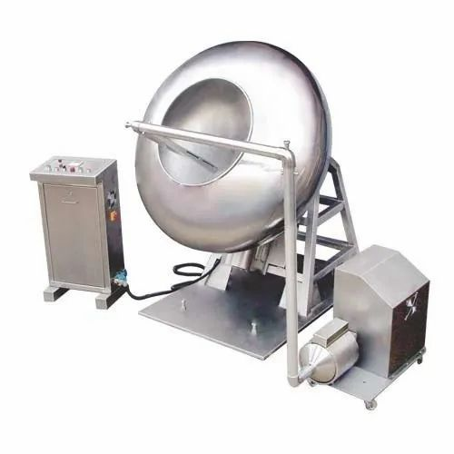 Stainless Steel Tablet Coating Pan, For Pharmaceutical Industries, | ID:  2208223612