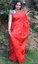 Red Pure Silk Saree