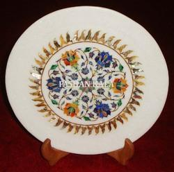 Marble Stone Inlay Decorative Plates